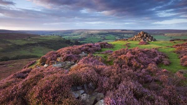 Rosedale in North York Moors National Park